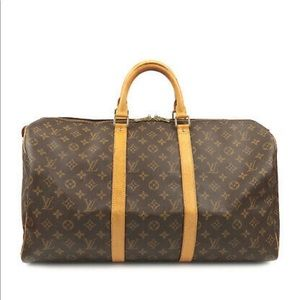 Authentic Louis Vuitton Keepall 45 Monogram